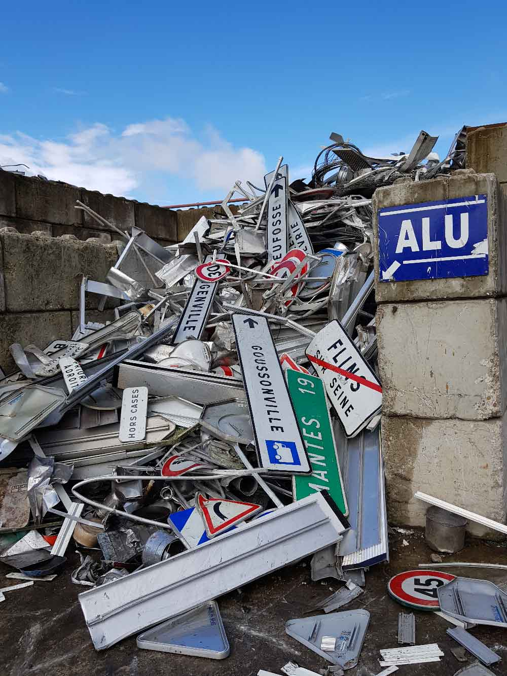 vente de l'aluminium Eure