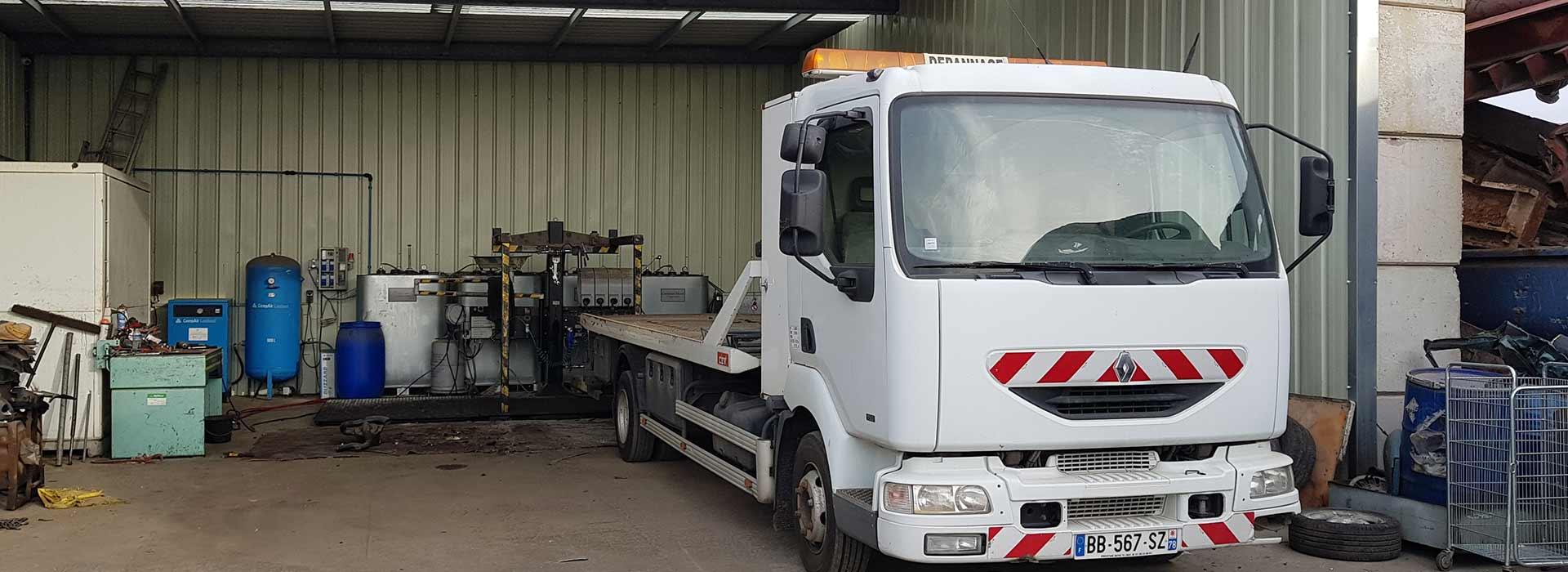Recyclage automobile à Porcheville 78